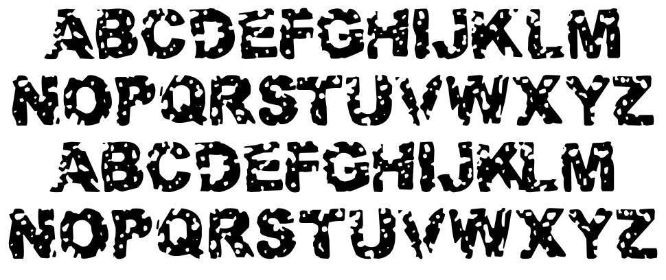 Target Practice font