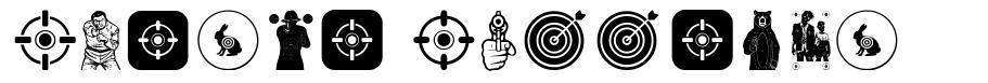 Target Shooting fonte