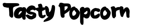 Tasty Popcorn font