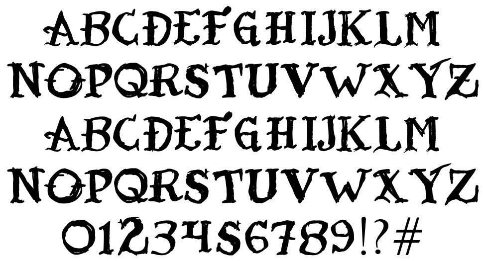 Tatoo Sailor font