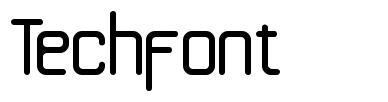 Techfont font