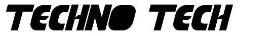 Techno Tech font