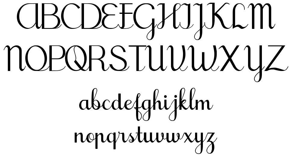 Tegak Bersambung IWK font