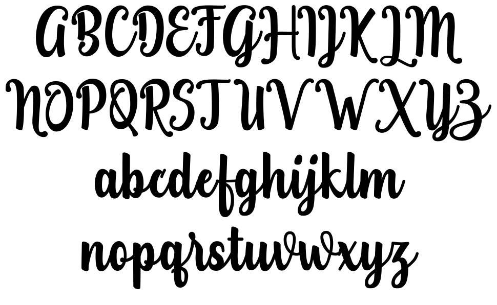 Teiqulato font