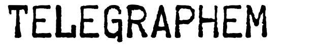 Telegraphem font