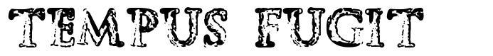 Tempus Fugit font