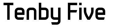 Tenby Five font