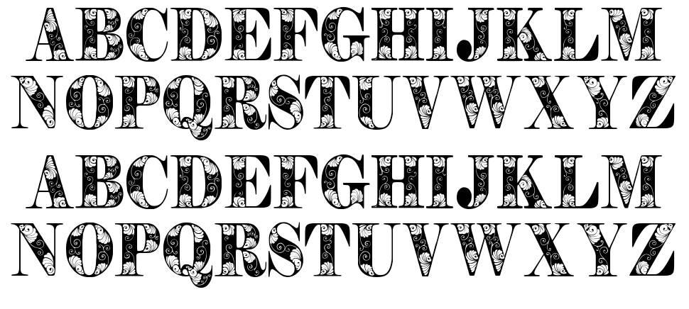 Tendrils písmo