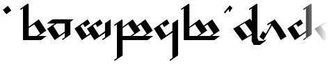 Tengwar Noldor