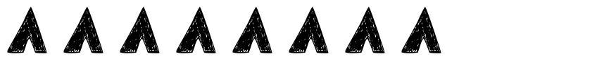 Tersesat 字形