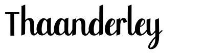 Thaanderley