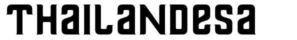 Thailandesa 字形