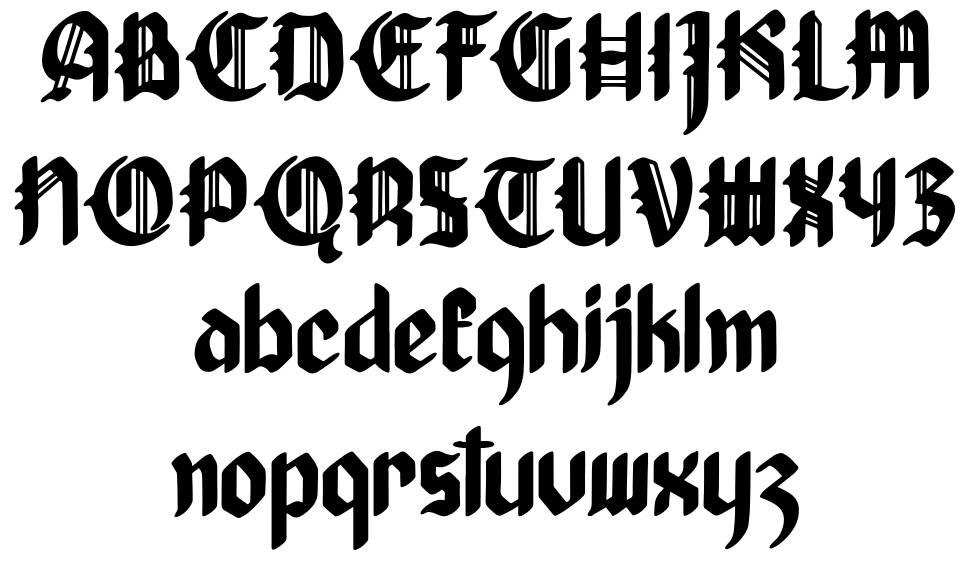 Thanose font
