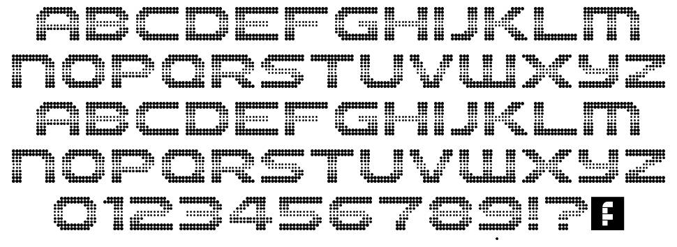 The 2K12 font