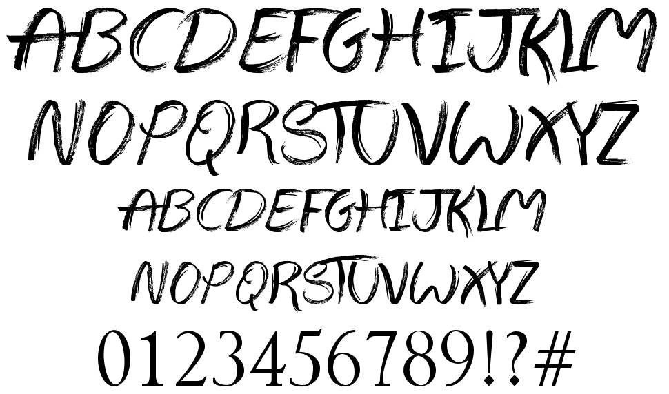 The Abandoned Treasure font