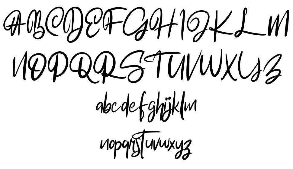 The Akrage font