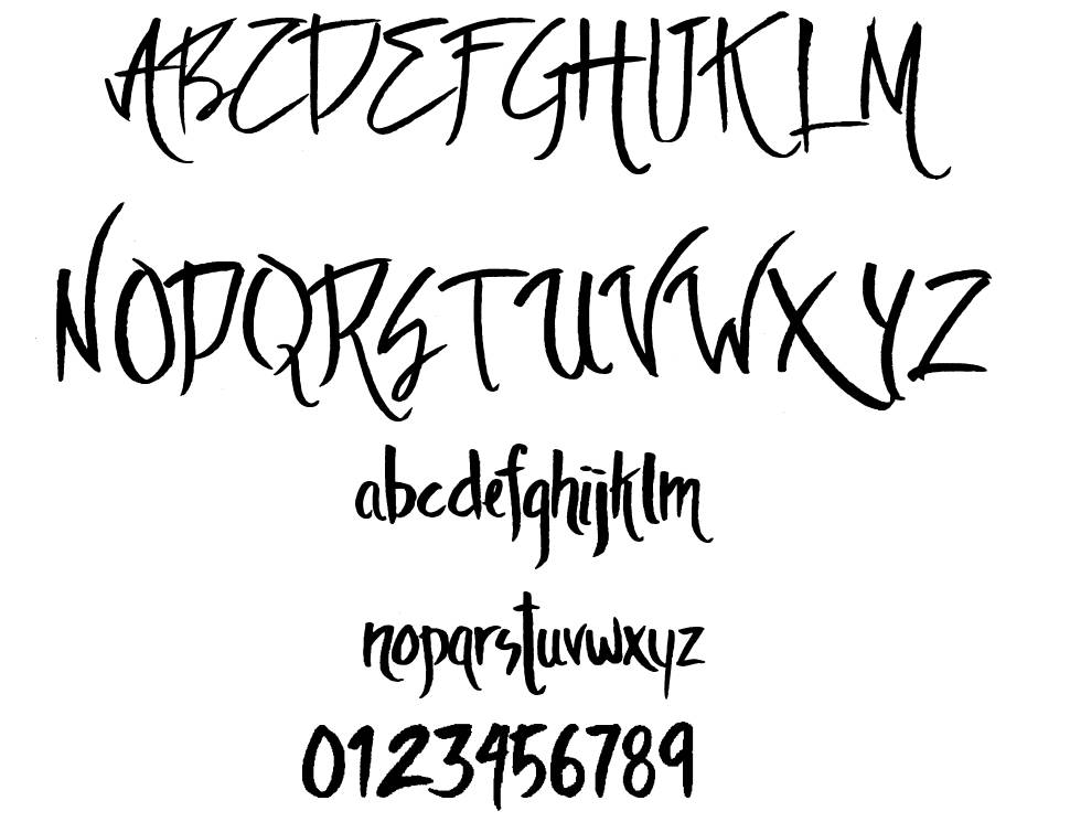 The Ambience font