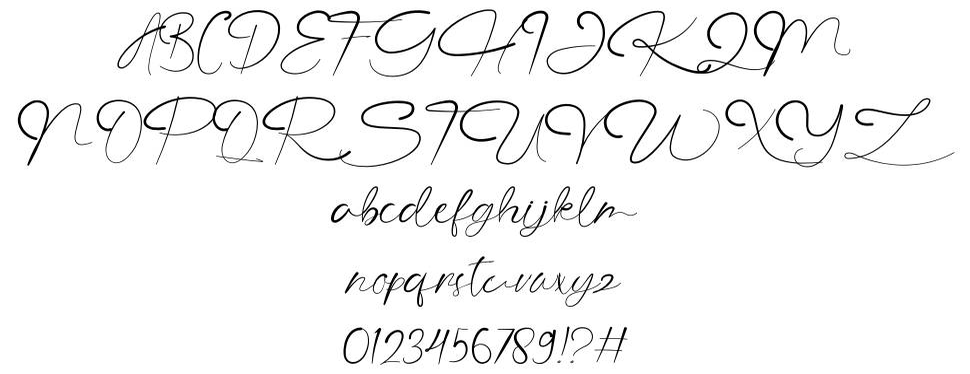 The Angellica font