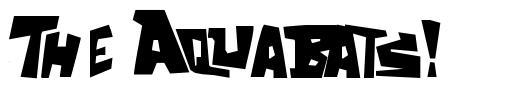 The Aquabats! font
