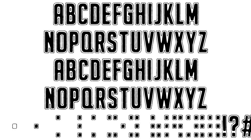 The Beginning Of Memory font