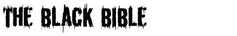 The Black Bible