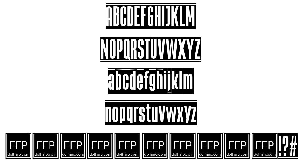 The Black Box font