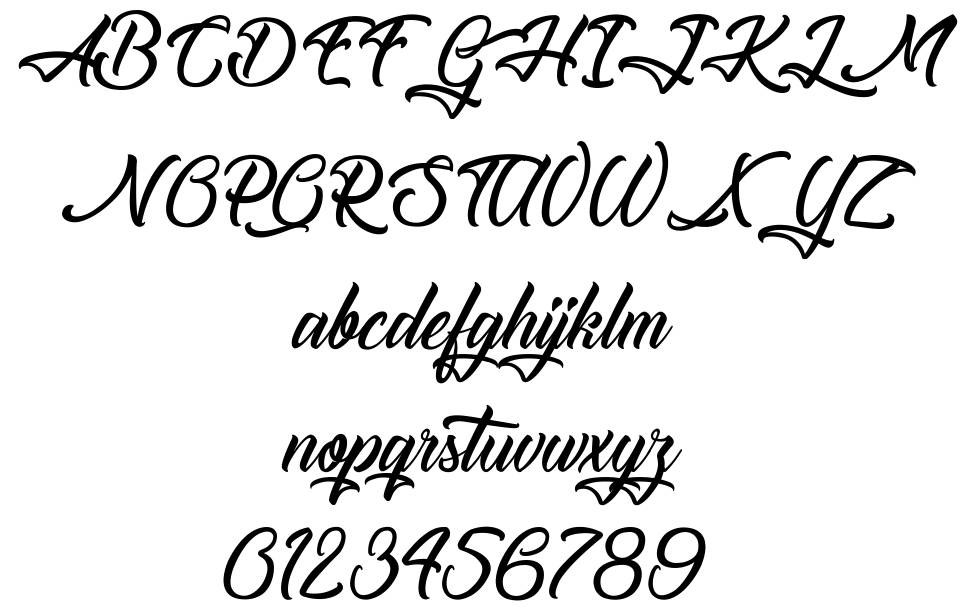 The Blacksmith font