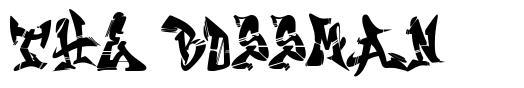 The Bossman font
