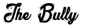The Bully font