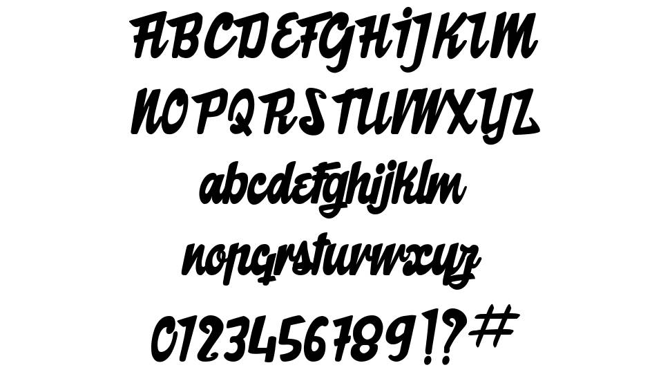 The Butcher Factory font
