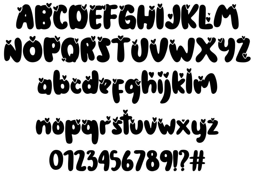 The Coconut Love font