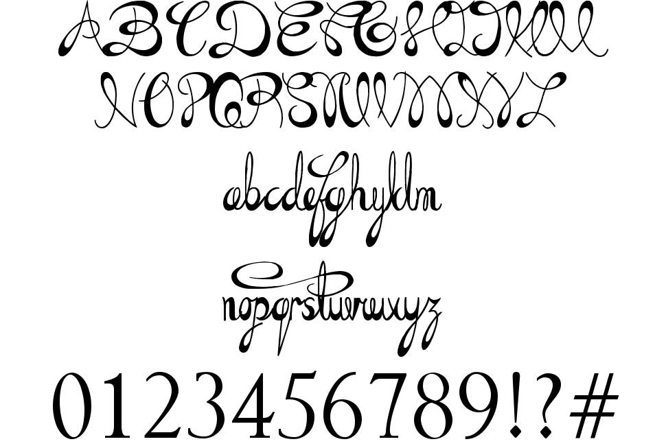 The Daily Bread font