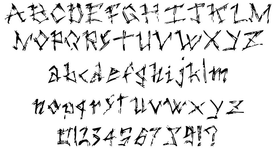 The Dark Ages font