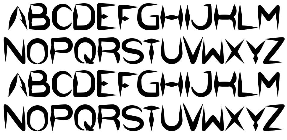 The Dark Knight font
