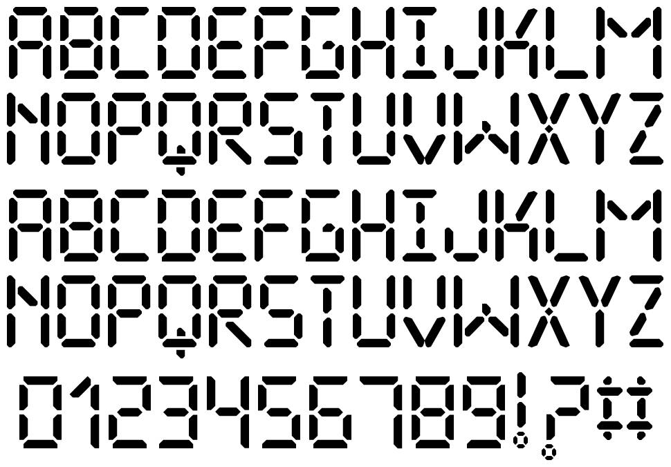 The Display St font