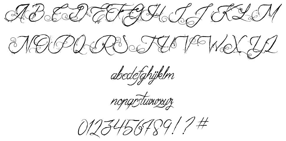 The Fabulous Orchestra font