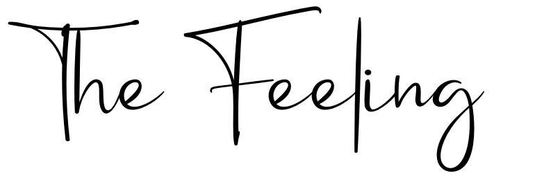 The Feeling font