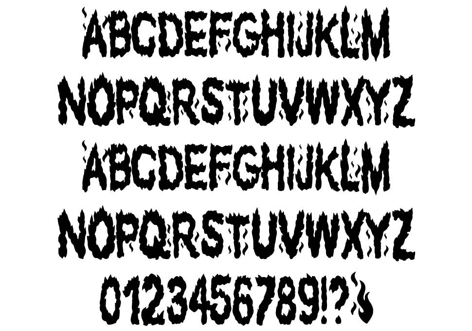 The Fuego Team font