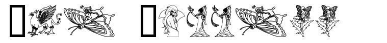 The Goddess font