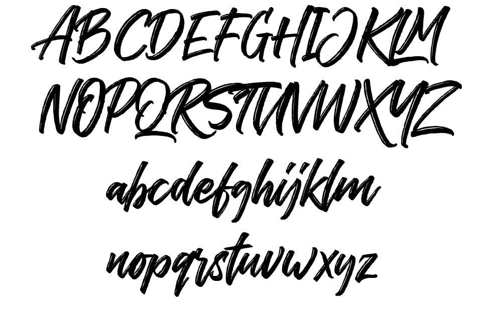 The Historia font
