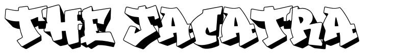 The Jacatra шрифт