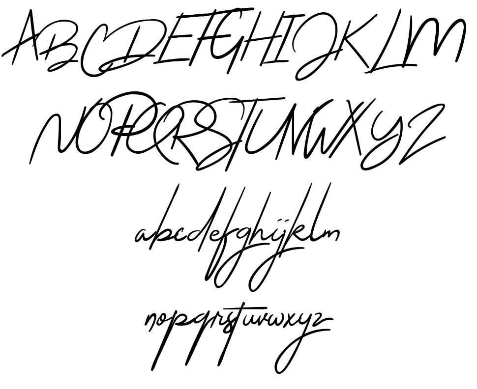 The Jacklyn font