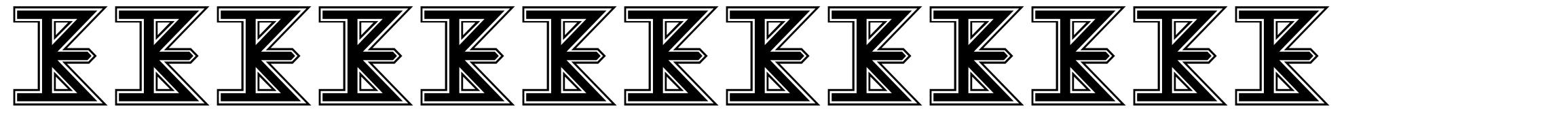 The Kiss Font
