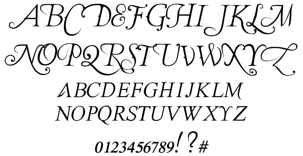 The Last Font I'm Wasting On You font
