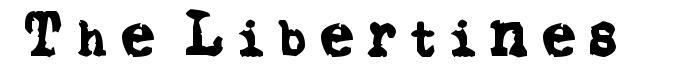 The Libertines font