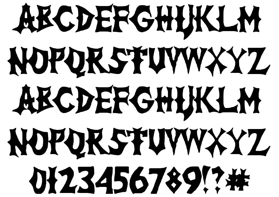 The Lord of War font