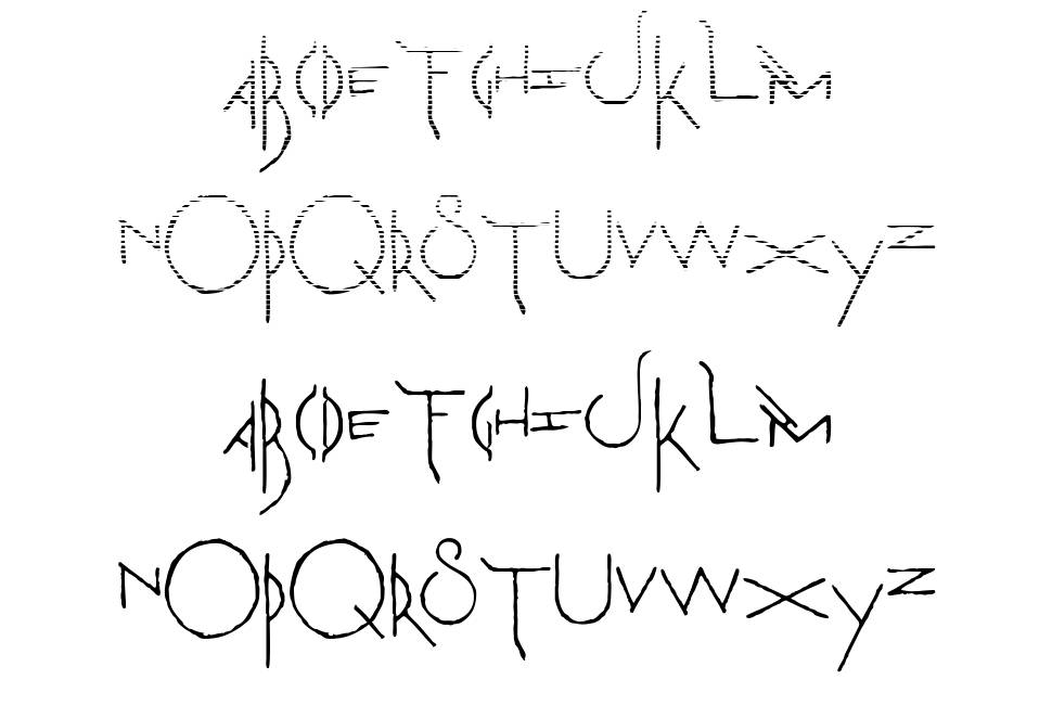 The Martian Chronicles font