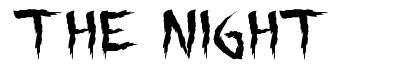 The Night font