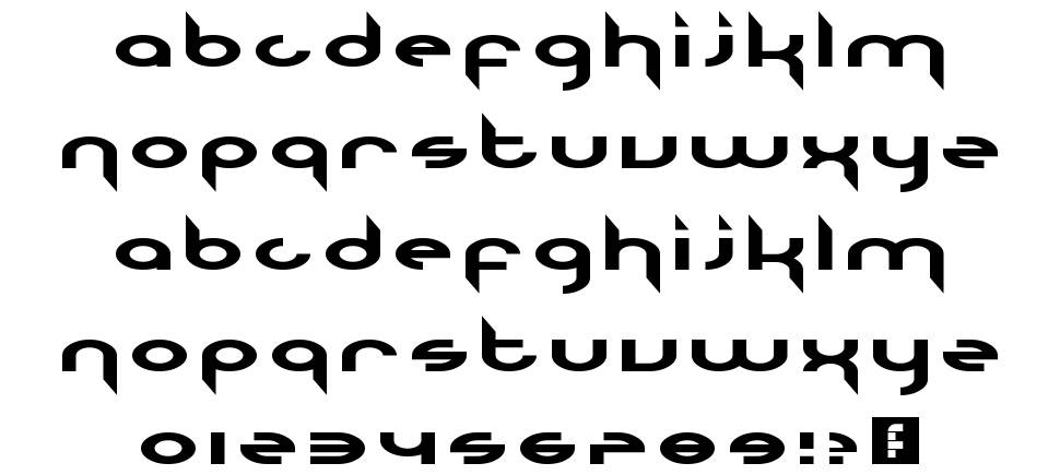 The Nineties Called They Want Their Font Back font