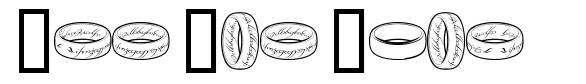 The One Ring font